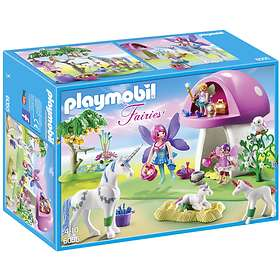 Playmobil Fairies 6055 Fairies with Toadstool House