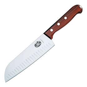 Victorinox 6.8520.17 Wood Santoku 17cm (Olivslipad)