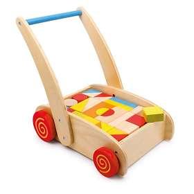 Legler Training Walker Toy Blocks