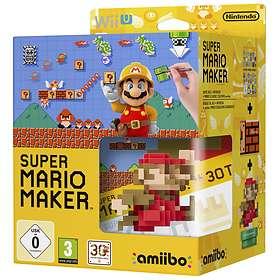 Super Mario Maker (+ Amiibo Mario Figure) (Wii U)