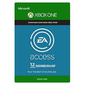 EA Access 12 Months Subscription Card