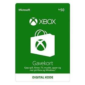 Microsoft Xbox Gift Card - 50 NOK
