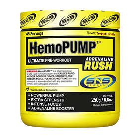 SNS Biotech HemoPUMP Adrenaline Rush 0.25kg