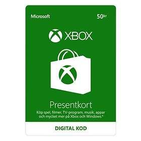 Microsoft Xbox Gift Card - 50 SEK