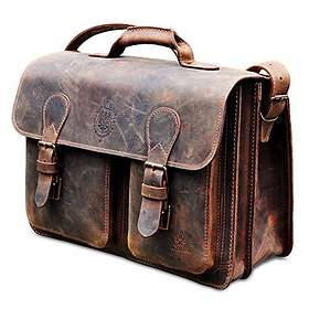 "Leicke Manna Leather Laptop Bag MacBook Pro 15"""