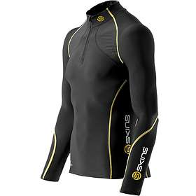 Skins A200 Thermal MckNeck w/Zip Compression LS Shirt (Herre)