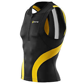 Skins Tri400 Compression Sleeveless Top with Zip (Herre)