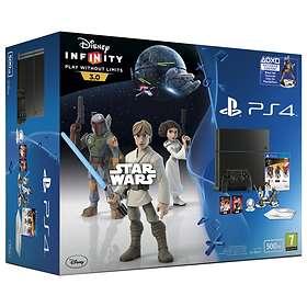 Sony PlayStation 4 500GB (inkl. Disney Infinity 3.0: Star Wars)