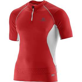 Salomon S-Lab Exo Compression Zip Tee (Herre)