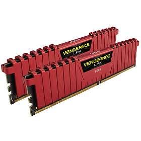 Corsair Vengeance LPX Red DDR4 2400MHz 2x8GB (CMK16GX4M2A2400C14R)