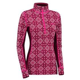 Kari Traa Rose LS Shirt Half Zip (Dam)