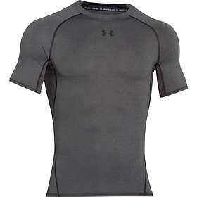 Under Armour HeatGear Compression SS Shirt (Herre)