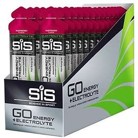 Science In Sport Go Energy With Electrolyte Gel 60g 30pcs