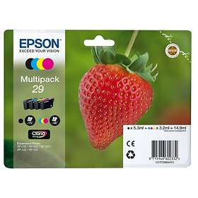 Epson 29 (Black/Cyan/Magenta/Yellow)