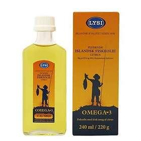 Lysi Islandsk Fish Oil 240ml