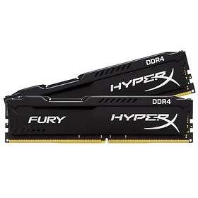 Kingston HyperX Fury Black DDR4 PC21300/2666MHz CL15 2x4GB