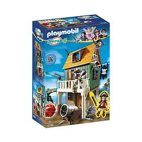 Playmobil Super4 4796 Camouflage Pirate Fort with Ruby