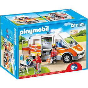 Playmobil City Life 6685 Ambulance with Lights and Sound