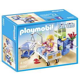 Playmobil City Life 6660 Förlossningsrum med Spjälsäng