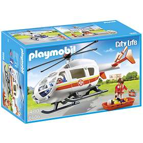 Playmobil City Life 6686 Ambulanshelikopter