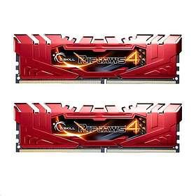G.Skill Ripjaws 4 Red DDR4 2400MHz 2x8GB (F4-2400C15D-16GRR)