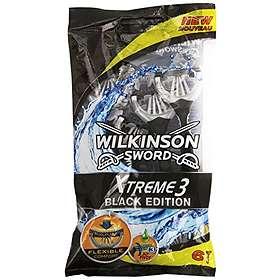Wilkinson Sword Xtreme 3 Black Edition Disposable Pack de 6