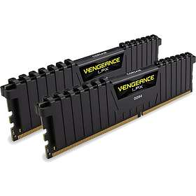 Corsair Vengeance LPX Black DDR4 3000MHz 2x8Go (CMK16GX4M2B3000C15)