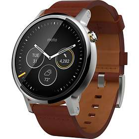 Motorola Moto 360 2nd Gen Mens 46mm Leather