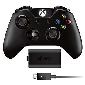 Microsoft Xbox One Wireless Controller V2 + Play & Charge (PC) (Original)