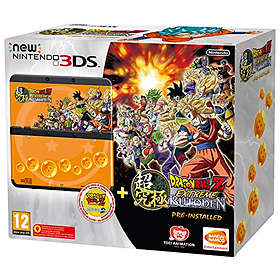Nintendo New 3DS (+ Dragon Ball Z: Extreme Butoden & Coverplate)