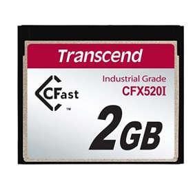 Transcend Industrial CFast 520x 2GB