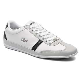 2341b7598a84b5 Find the best price on Lacoste Misano Sport Leather (Men s ...