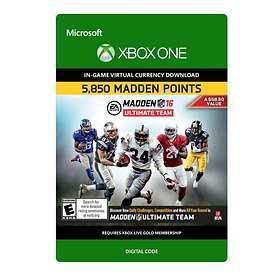 Madden NFL 16 - 5850 Madden Points (Xbox One)
