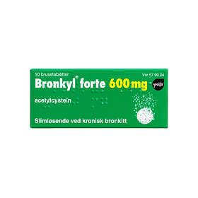 Weifa Bronkyl Forte 600mg 10 Tabletter
