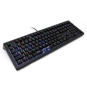 Ducky DKSH1508ST Shine 5 RGB MX Blue (Pohjoismainen)