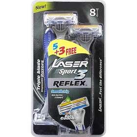 Laser Sport3 Reflex Disposable 8-pack