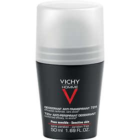 Vichy Homme 72Hr Anti-Perspirant Sensitive Skin Roll-On 50ml
