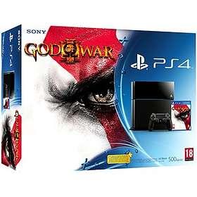 Sony PlayStation 4 500GB (+ God of War III Remastered)