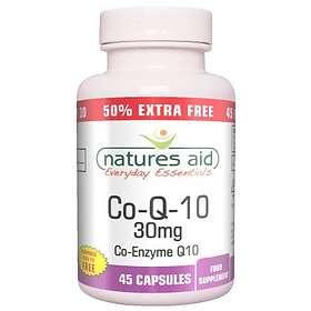 Natures Aid Co-Q-10 30mg 45 Kapslar