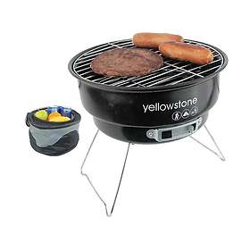 Yellowstone Folding Portable BBQ with Cooler Bag