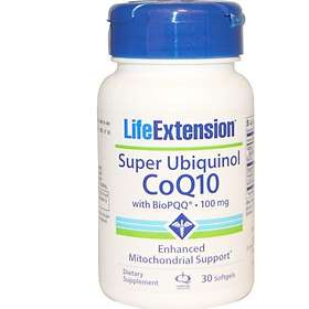 Life Extension Super Ubiquinol CoQ10 100mg with BIOPQQ 30 Kapslar