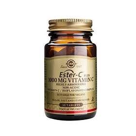 Solgar Ester-C Plus 1000mg Vitamin C 30 Tabletter