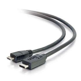 C2G USB C - USB Micro-B 2.0 1m