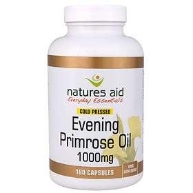 Natures Aid Evening Primrose Oil 1000mg 180 Capsules