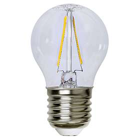 Star Trading Illumination LED Clear Filament Bulb 150lm 2700K E27 2W