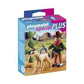 Playmobil Special Plus 5373 Cowboy med Föl