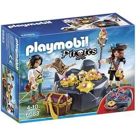 Playmobil Pirates 6683 Skattgömställe med Pirat