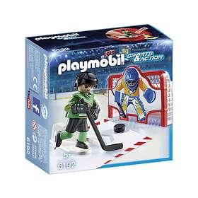 Playmobil Sports & Action 6192 Ishockey Målträning