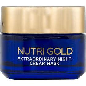 L'Oreal Nutri Gold Extraordinary Night Cream Mask 50ml