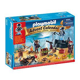 Playmobil Christmas 6625 Skattkammarön Adventskalender 2015